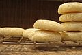 Shortbread cookies stacked on a wire rack.jpg