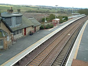Shotts Line - Shotts railway station