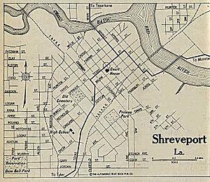 History of Shreveport, Louisiana - Shreveport in 1920