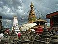 Shyambhunath and Surrounding temples.jpg
