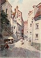 Side Street in Augsburg, by Edward Theodore Compton, 1912.jpg