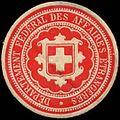 Siegelmarke Departement Federal des Affaires Etrangeres W0317436.jpg