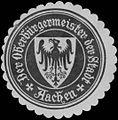 Siegelmarke Der Oberbürgermeister der Stadt Aachen W0383401.jpg