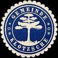 Siegelmarke Gemeinde Klotsche W0313814.jpg
