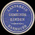 Siegelmarke Gemeinde Linden - Landkreis Hannover W0239555.jpg