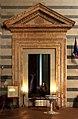 Siena, san francesco, interno, portale laterale di francesco di giorgio martini.jpg