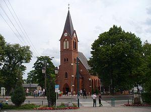 Sierakowice, Pomeranian Voivodeship - Church
