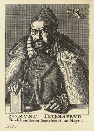 Feyerabend, Sigmund (1528-1590)