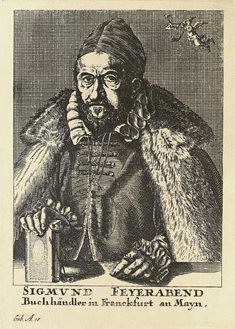 Sigmund Feyerabend - Contemporary portrait of Feyerabend