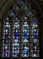 Simorre - Eglise Notre-Dame - Vitrail - Chevet 1357.jpg