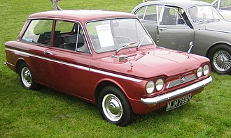 Hillman Imp - The Singer Chamois version sold at a premium: additional features included a distinctive false grill and, from October 1969, twin headlights