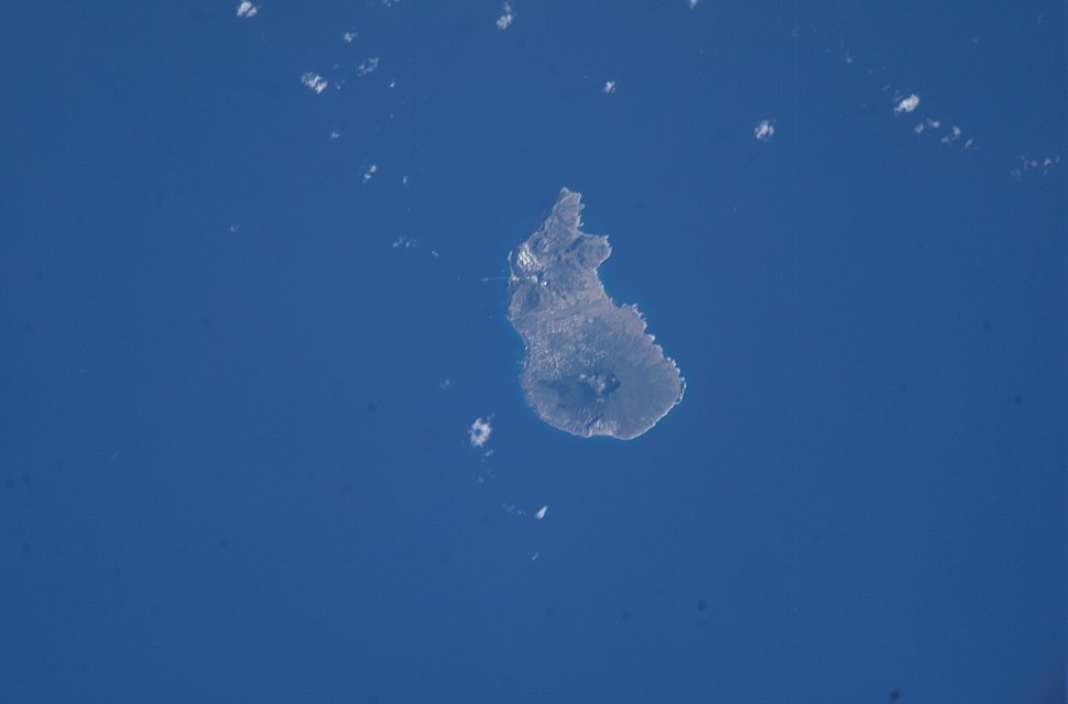Sint Eustatius from ISS