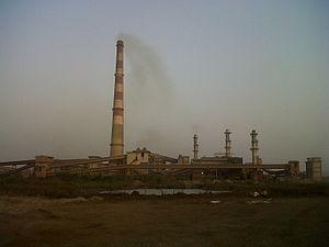 Sinter plant - Sinter plant at JSW Ispat Steel Ltd, India.