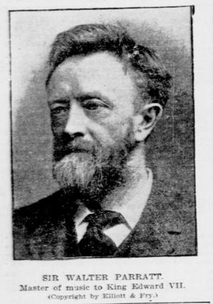 Walter Parratt - Image: Sir Walter Parratt