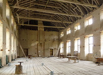 Skokloster Castle - The Unfinished Hall.