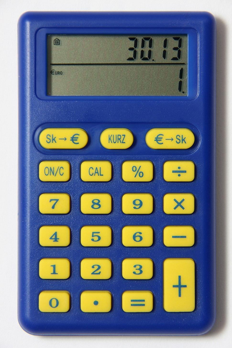 Slovak euro calculator2