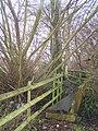 Small Footbridge near Willow Tree - geograph.org.uk - 1084190.jpg