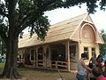 Smithsonian Folklife Festival 2013 - crafts house.JPG