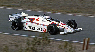 Tom Sneva - Sneva's March 84C at Laguna Seca in 1984