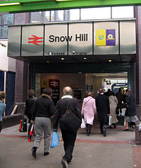 Snow Hill station entrance