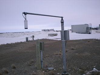 Snow science - An ultrasonic snow depth sensor