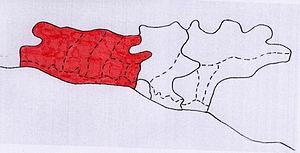 Лазаревский район на карте