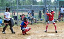 Description de l'image Softball Batter and Catcher crop.jpg.