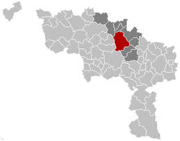 Soignies – Mappa