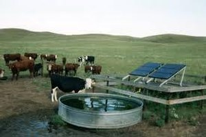 Solar-powered pump - This solar water pump up to 5 hp is useful for farmers.