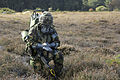 Soldier Carries Out Personal Decontamination Drills MOD 45150768.jpg