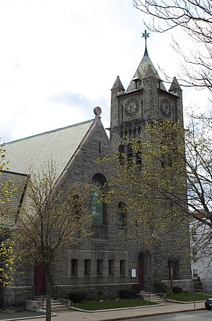 First Unitarian Church (Somerville, Massachusetts) - Image: Somerville MA First Unitarian Church