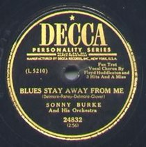 "78er ""Blues Stay Away from Me"" - Sonny Burke & His Orchestra"