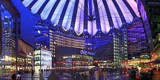 Sony Center - Central forum of the Sony Center