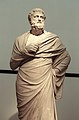Sophocles, Roman Age marble statue after Greek original, Klas07.jpg