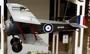 William Beardmore and Company - N6812, a preserved, Sopwith Camel, built under licence by Beardmore