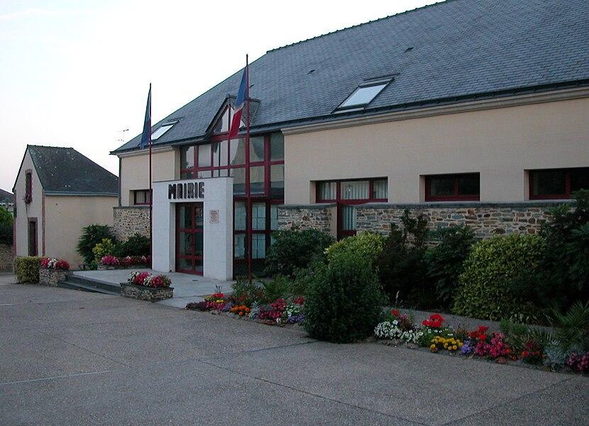 Town hall of Soudan, Loire-Atlantique