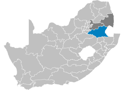South Africa Districts showing Gert Sibande.png