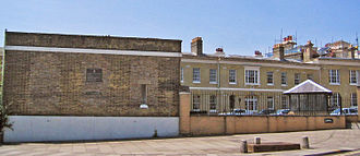 Ordnance Survey - The old site of Ordnance Survey, London Road, Southampton City Centre, in 2005