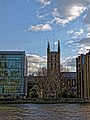 Southwark Cathedral from The Thames.jpg