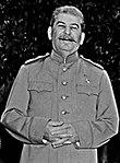 Soviet Prime Minister Josef Stalin at the Potsdam - NARA - 198982(g)(cropped).jpg