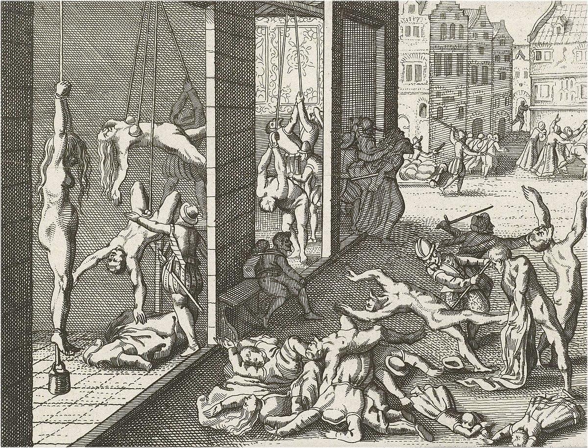 Spaanse Furie, plundering.jpg