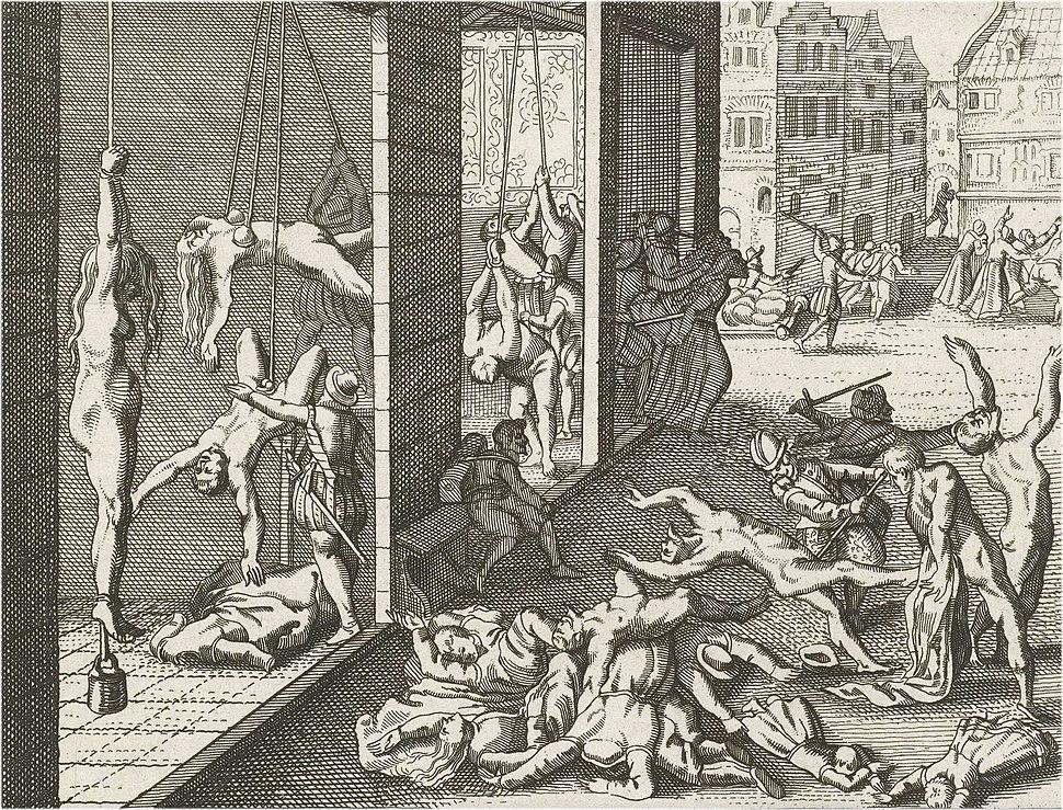 Spaanse Furie, plundering