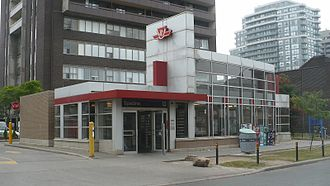 Spadina station - Walmer Ave entrance
