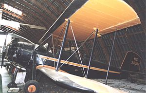 Spartan C3 - C3-165 on display at the Old Rhinebeck Aerodrome Museum near New York in June 2005