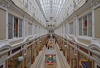 Passage (department store) - Contemporary interior of the Passage