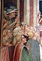Spinello aretino, Caterina in prigione converte la regina con le dame e riceve la visita di Cristo 03.JPG