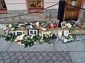Spontaneous Marie Fredriksson's memorial, Saint-Petesrburg.jpg