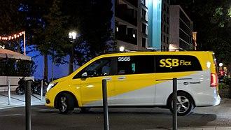 Stuttgarter Straßenbahnen - Mercedes-Benz V-Class for SSB Flex