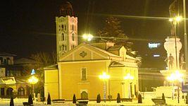 St. Demetrious Church at night.jpg