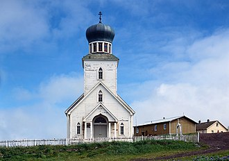 National Register of Historic Places listings in Aleutians West Census Area, Alaska - Image: St. George Church Pribolof AK HABS1